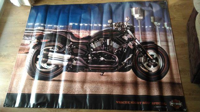 Harley- davidson :baner,reklama 2mx1.5m