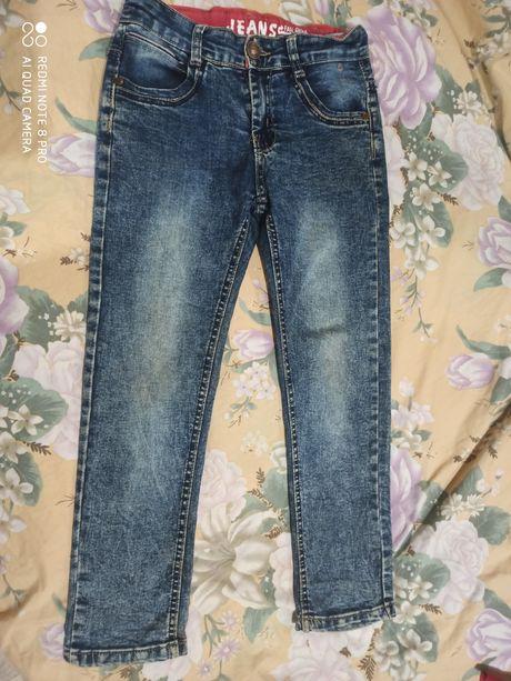 Крутые джинсы  брюки для мальчика 122-130см.Срочно