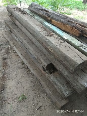 Продам шпалы на дрова