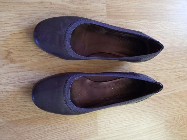 Туфли/ Балетки Clarks 23-23,5см, кожа