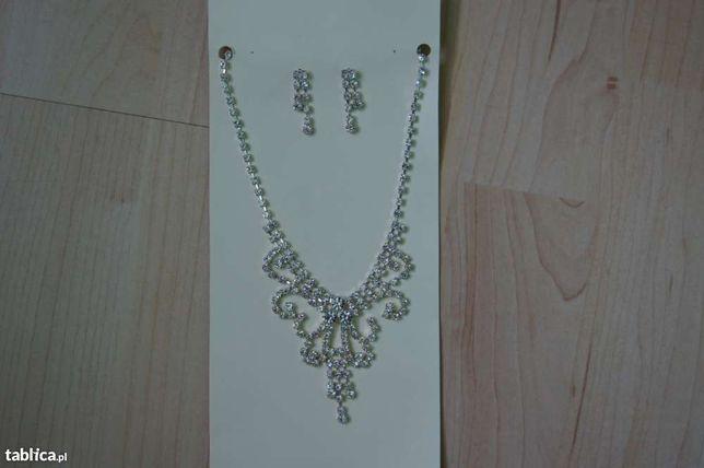 biżuteria naszyjnik i kolczyki