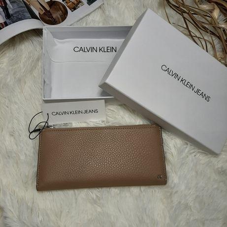 Кошелек кожаный женский Calvin Klein