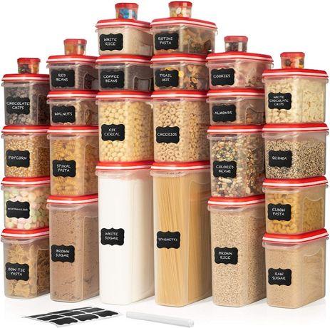52 Caixas de arrumação Conservação e organização de alimentos