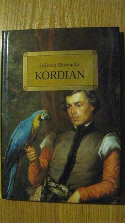"""Juliusz Słowacki """"Kordian"""" książka z opracowaniem"""