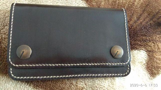 Шкіряний гаманець, портмоне