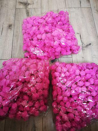 Piankowe róże różyczki 500szt