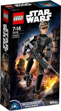 Новый конструктор LEGO Star Wars лего Сержант Джин оригинал 75119