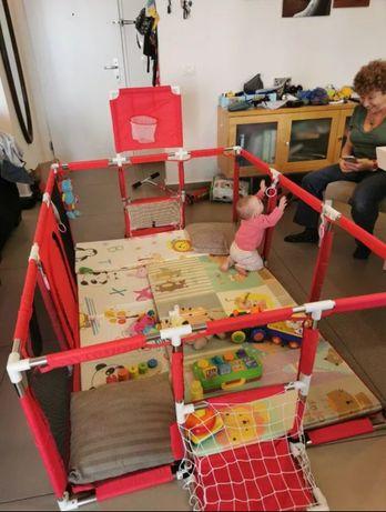 (Envio incluído) Parque grande para bebés