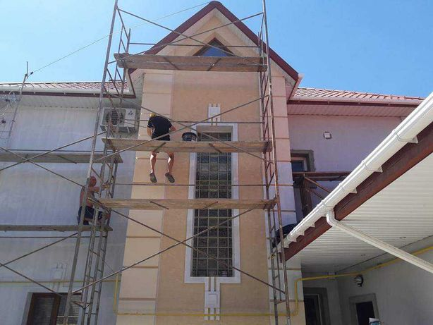 Фасадные работы, утипления домов.