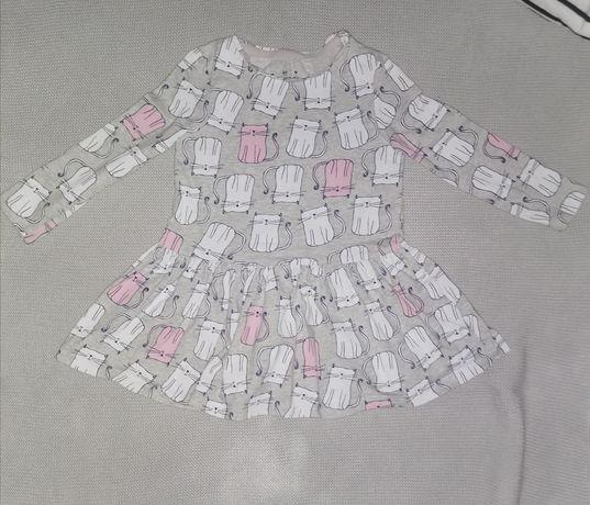 Sukienka w kotki rozmiar 86