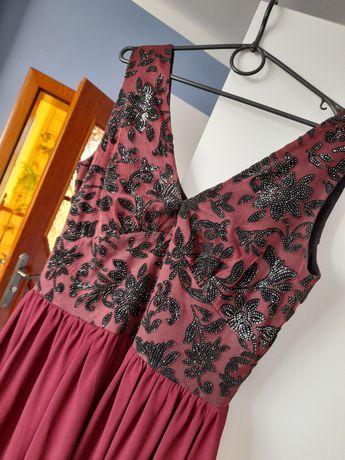 Piekna długa maxi sukienka
