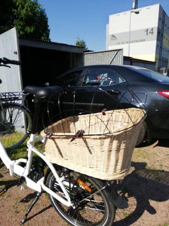Koszyk dla pieska na rower