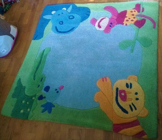 Sprzedam dywan wełniany HABA 1,4 m x 1,4m