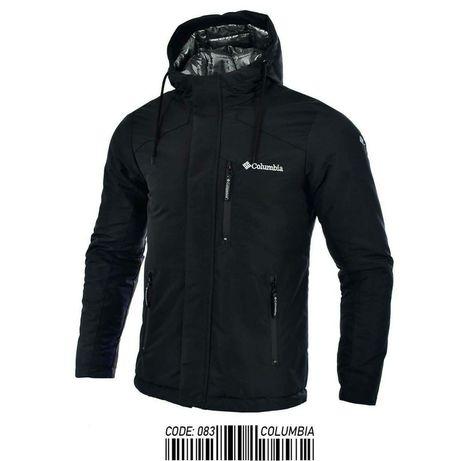 Тёплая мужская зимняя куртка Columbia Тепла чоловіча спортивна-класика