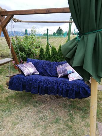 Poduszki na huśtawke