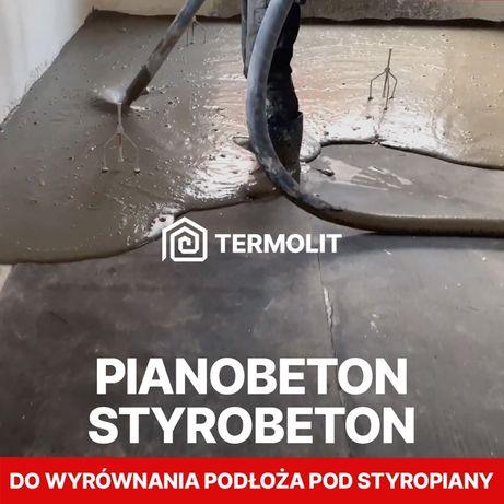 PIANOBETON /Styrobeton Wrocław -promocja pod posadzki wylewki jastrych
