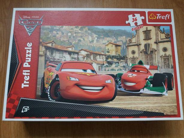 Puzzle Trefl Gigant, 36 elementów, Auta