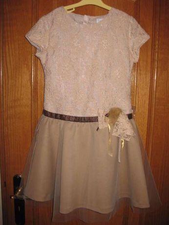 Vestido cerimónia Torres - tamanho 10 - novo