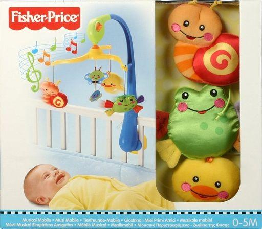 FISHER PRICE M5606 Karuzela nakręcana Kołysanka dla dzieci