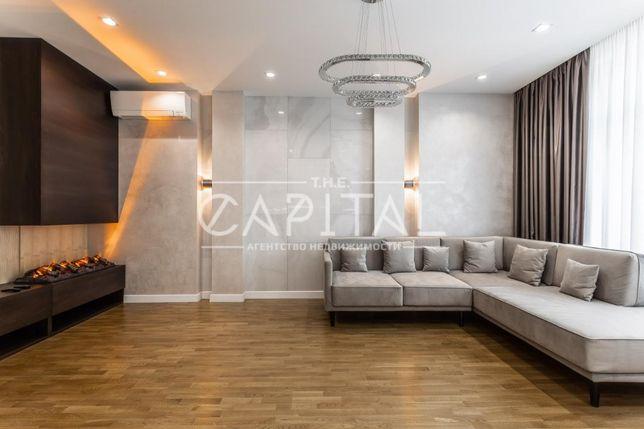 Видовая дизайнерская 3-комнатная квартира ЖК Новопечерские Липки