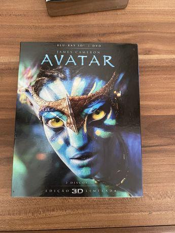 BlueRay 2D e 3D filme Avatar