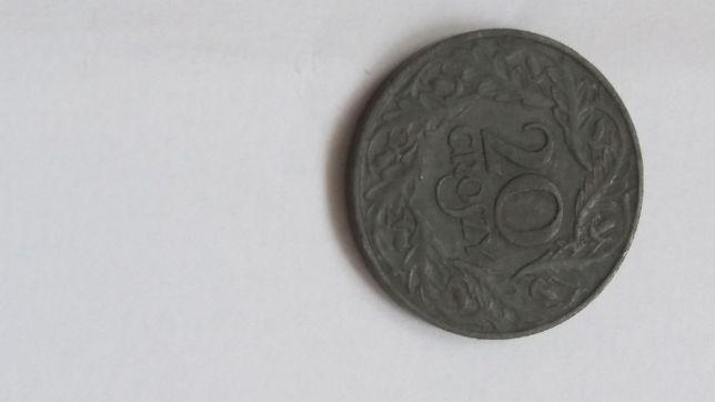 20 groszy 1923 cynk stara moneta