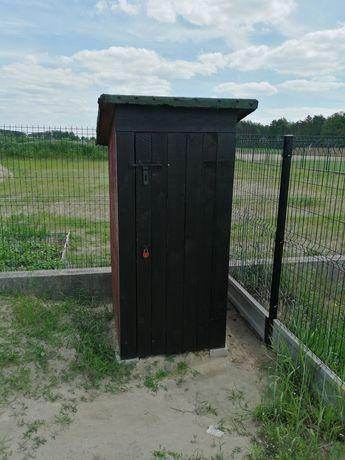 Toaleta, Wychodek na budowe