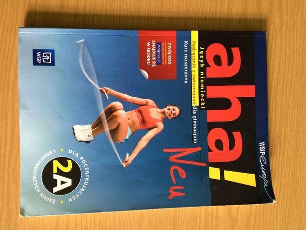 podręcznik z ćwiczeniami do języka niemieckiego gimnazjum AHA 2A