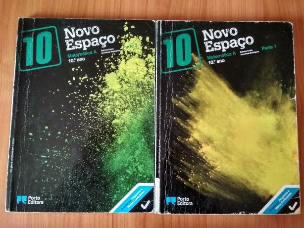 """Manual Matemática A """"Novo Espaço"""" - 10º Ano"""