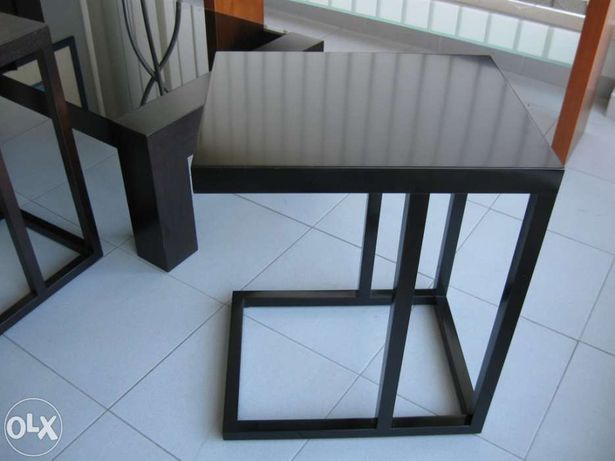 Mesa apoio sofás
