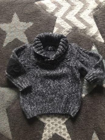 Sweter chłopięcy 9-12m 80
