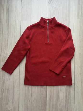 Sweterek Zara czerwony