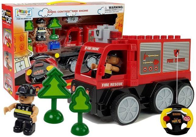 Auto Wóz Strażacki Zdalnie Sterowany R/C