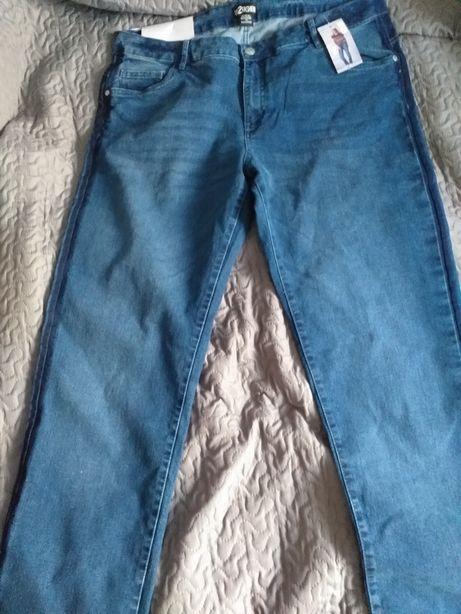 Nowe jeansy damskie roz.52