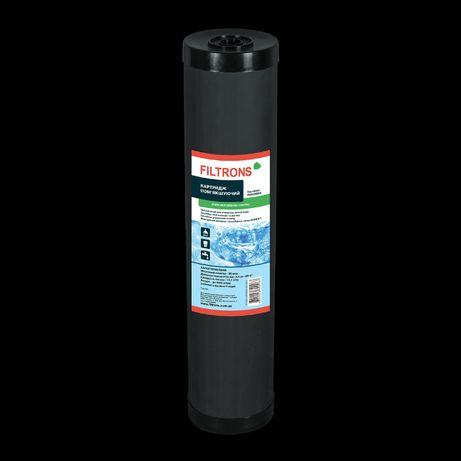"""Картридж умягчения холодной воды Filtrons (смола Dowex, США) 4,5 """"x20"""""""