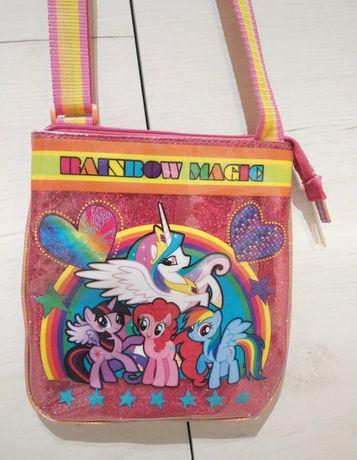 Torebka My Little Pony Listonoszka dziecięca różowa na ramię