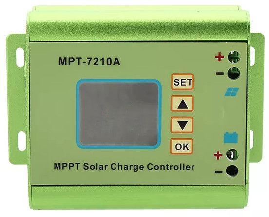 Controlador da carga painel solar MPPT-7210A