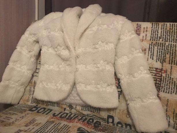 Шуба біла весільна