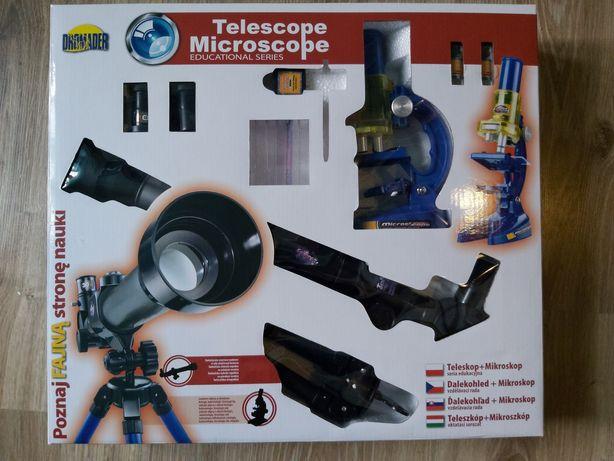 Mikroskop+ teleskop