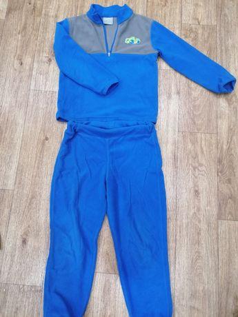 Флисовый костюм для мальчика
