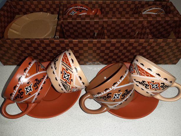 Чайный сервиз 12 предметов керамика