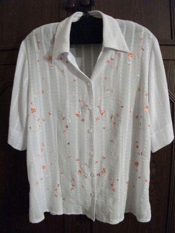 Кофточка кофта блузка женская большого размера