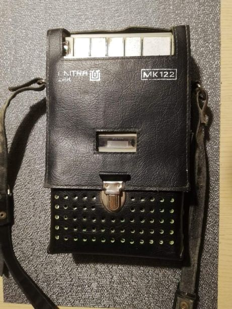 UNITRA MK 122 radio PRL klasyk