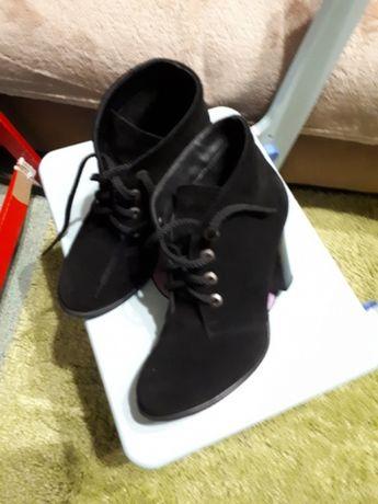 Ботинки Деми, замш натуральный