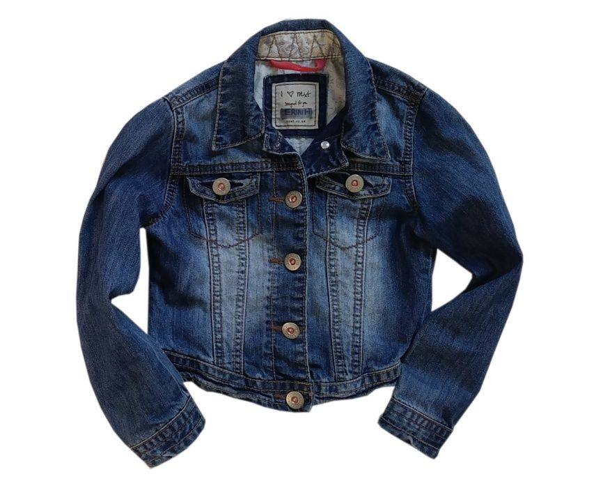 NEXT kurtka jeans katana 5-6 lat 116 Żabno - image 1