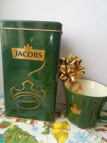 Подарочный набор Кофе и чашка Jacobs
