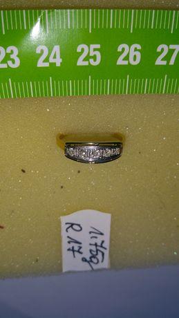 Pierścionek złoty z diamentami w cenie 4100 zł