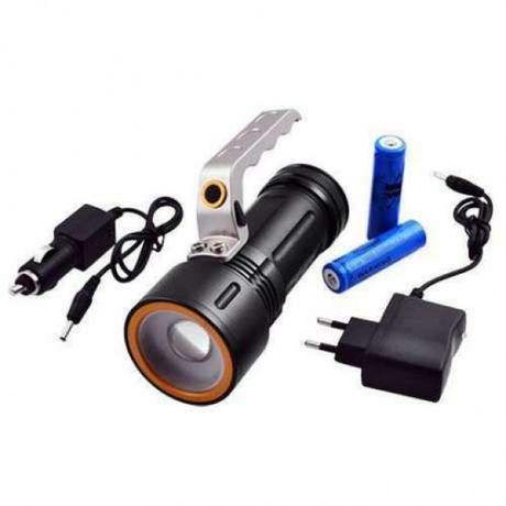 Фонарь прожектор фонарик Bailong Police BL-910 (801) 158000W XPE