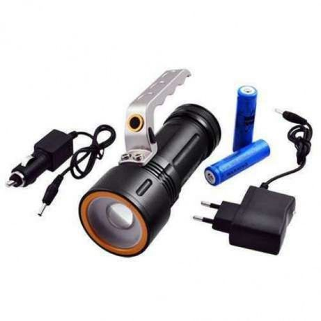 Фонарь прожектор фонарик Bailong Police BL-910 (801-9) 158000W XPE