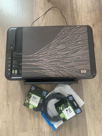 Drukarka hp Deskjet Ink Advantage + nowe tusze+ kabel